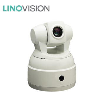 Linovision dual-lens auto-tracking broadcasting conference camera for lecture/classroom/conference use