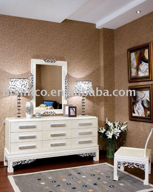 New Classical Luxury Bedroom Dresser,Mirror,Stool,Bedroom Furniture ...
