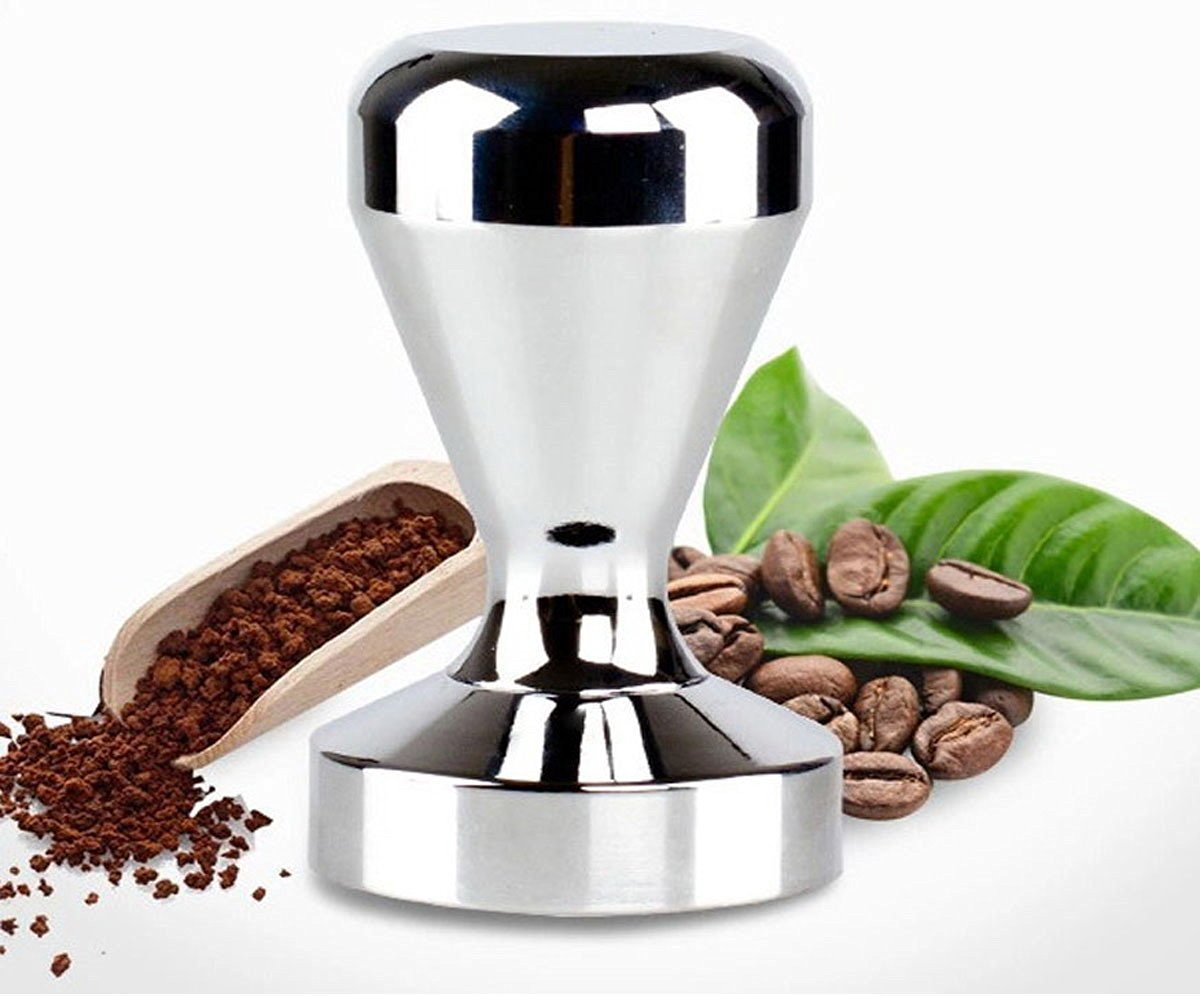 49//51//57.5mm Flat Base Espresso Tamper Heavy Duty Coffee Bean Press Barista Tools Coffee Grind Pressing Coffee Shop Grinder Supplies /& Equipment Stainless Steel Base Coffee Tamper w//Wooden Handle