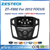 ZESTECH auto audio video entertainment navigation system with car audio for Ford Focus 2012