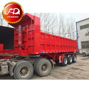 2017 New widely used Tipper container trailer/tipping chassis for sale