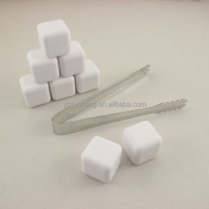 Reusable Food Safe ceramic whisky stones ice cube