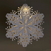 3D Paper Snowflake Christmas Tree Decoration