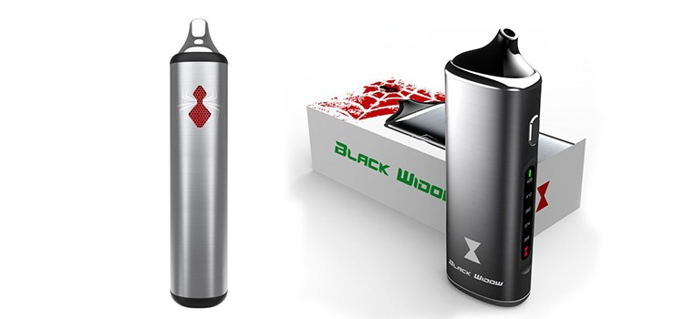 black widow box mod e cigarette atomizer vape dry herb vaporizer