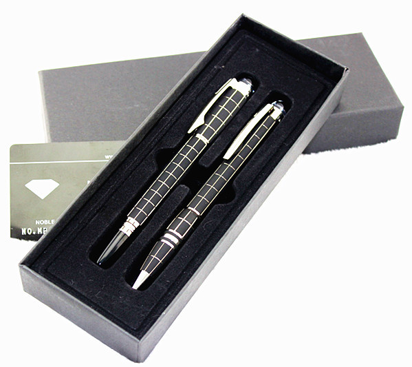 2pc/Newest Model New Design Metal Set pens, StarWalker Promotional Hot  Roller ball Pen+ ballpoint Pen For Writing Business Gift