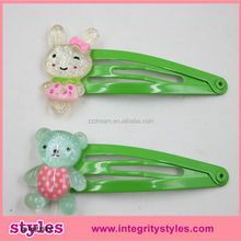 Latest hot sale trendy promotion gift popular attractive cute lively animal hair accessory for promotion