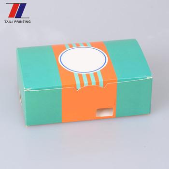 Customize Custom Deli Kfc Sizes Hamburger Box Packaging Burger Templates