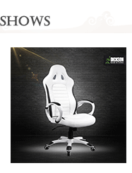 Dickson dramatic wrap sentiment pure white leather office chair