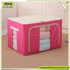 High Quality Fabric Foldable Living Box Home Fabric Storage Box