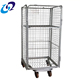 New arrived Hand Carts Trolleys 4 sides roll cage