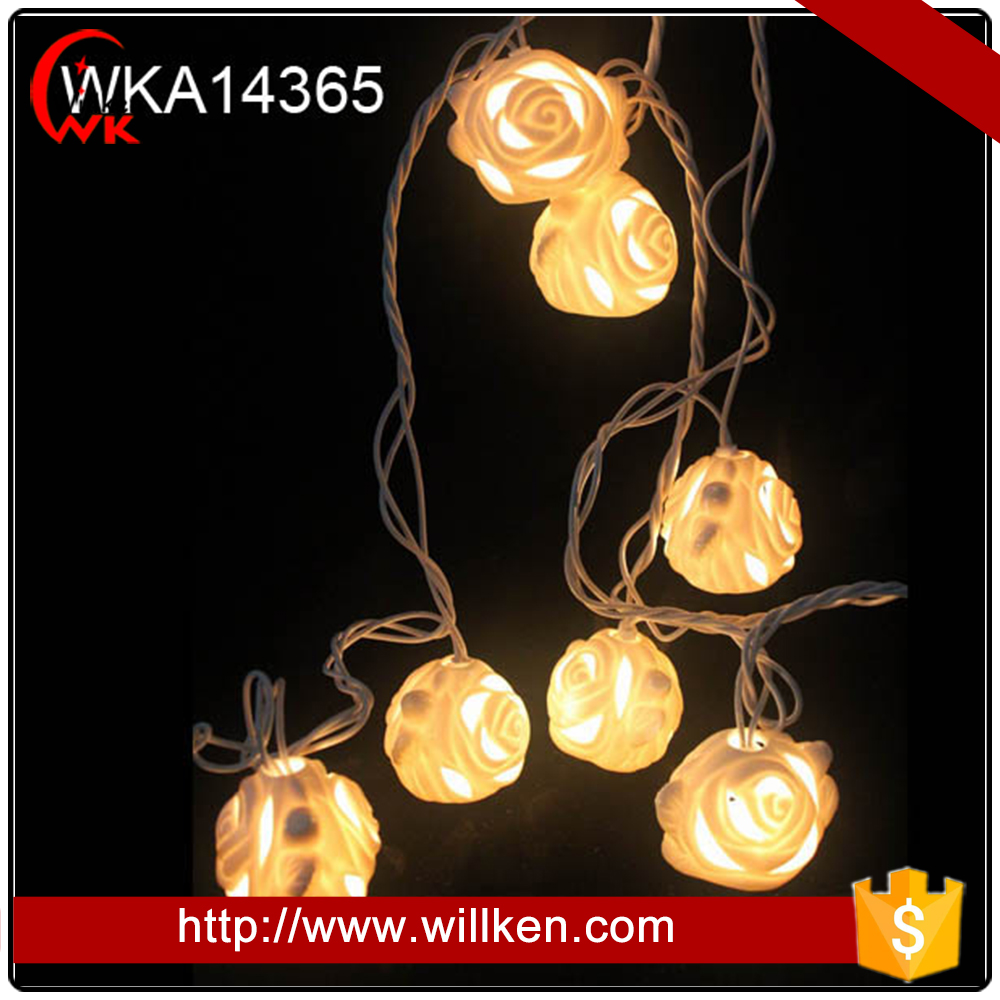 Electric wedding decor promotional flower led rose light