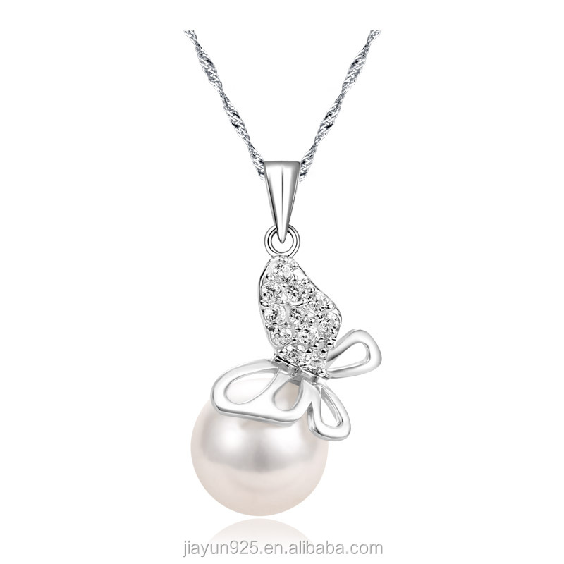 925 sterling silver pendant butterfly pearl cage pendant quantum pendant