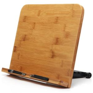 Bamboo Reading Rest Cook Book Document Stand Holder Rack