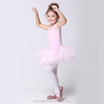 17befed1 Ballet clásico traje Tutu danza ropa de 2-10 años niñas Ballet niño  leotardo profesional