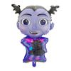 wholesale vampirina foil balloons happy halloween event party supplies vampire girl helloween shape helium balloon