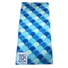 custom digital printed microfiber beach towels with your logo for promotion