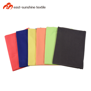 Multi-purpose lightweight large microfiber gym sports towel with zip pocket packing