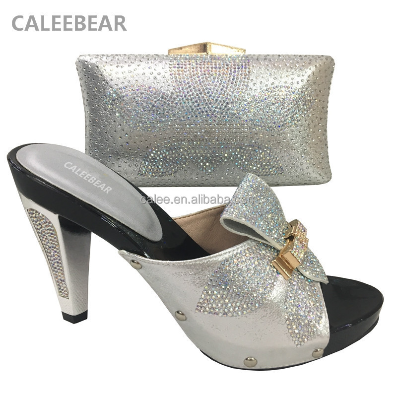 to African Color Gold bags shoes 2018 and women women match shoes ladies shoes EqxYwg