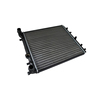 Aluminium auto radiator for skoda 6Q0121253J