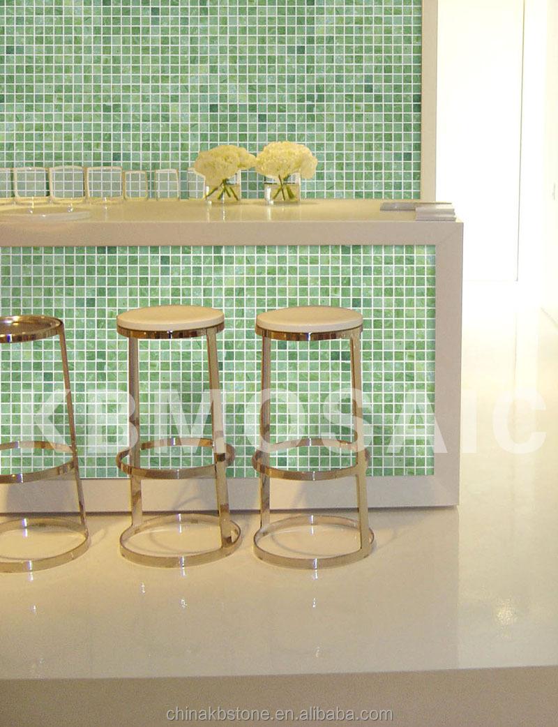 dandong vert marbre carrelage mosaïque,cuisine et salle de bains