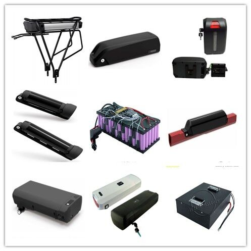 Long/triangle/square shape 2900mah cells 13S7P 18650 48v 20.3ah electric bicycle battery