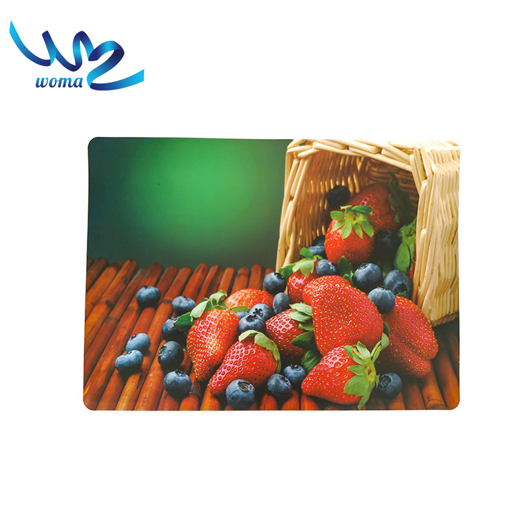 Customized printed baby disposable placemats waterproof clear plastic mat,table mat,placemat