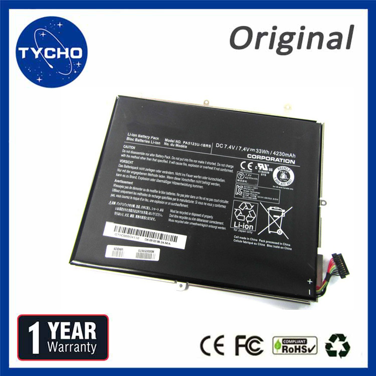 Original Laptop Battery PA5123U For Toshiba Excite Pro PA5123U-1BRS Genuine Notebook Battery