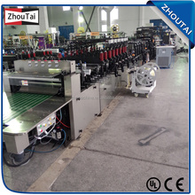 Fully automatic stand up pouch making machine / bag making machine