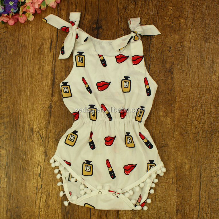 Lipstick design import baby clothes
