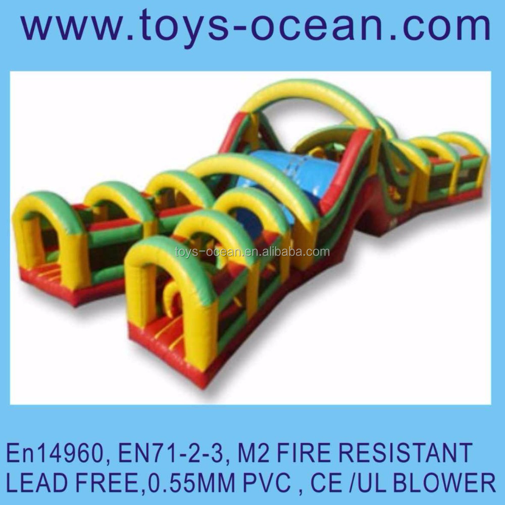 inflatable obstacle course for adults inflatable obstacle course