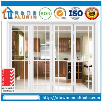 China Design Aluminium Frame Glass Folding Door With Competitive ...