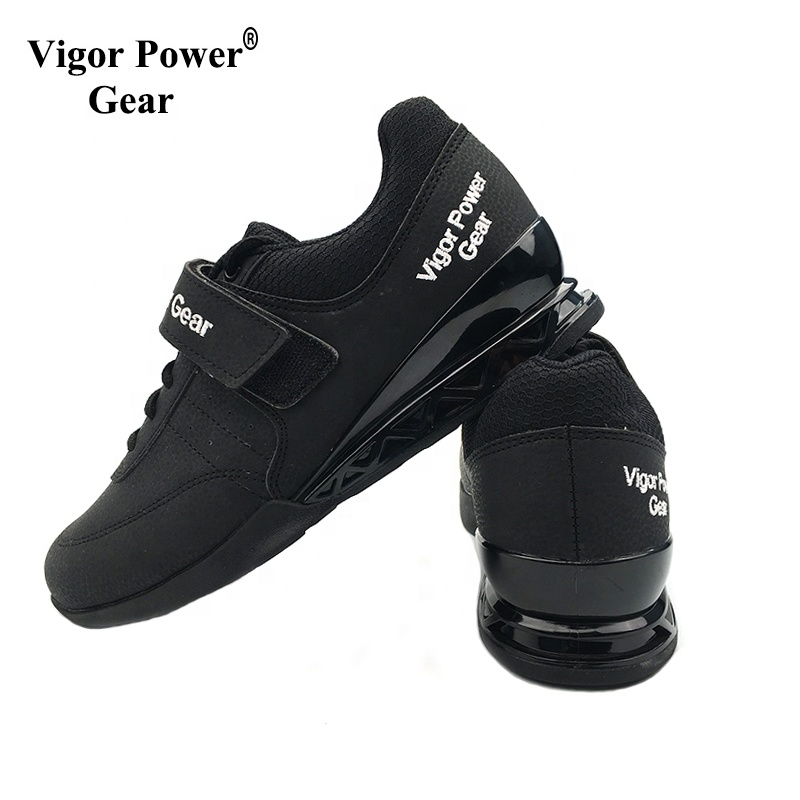 vigor power gear high quality non-slip squat <strong>weight</strong> lifting shoes power lifting shoes for <strong>weight</strong> lifting exercise training