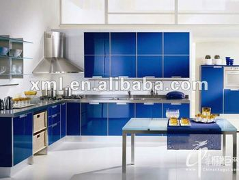 Aluminum Frame Fashion UV Board Kitchen Cabinet