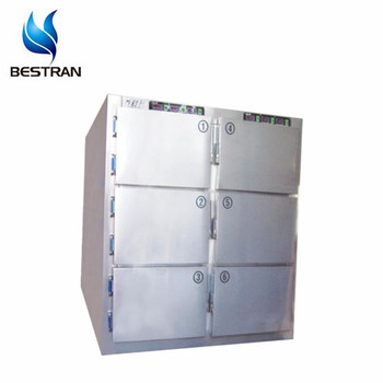 Bt-rmf6 Funeral Supplies 6 Bodies Mortuary Freezer Embalming Equipment  Mortuary Body Refrigerators - Buy Mortuary Freezer,Corpses Freezer,Mortuary