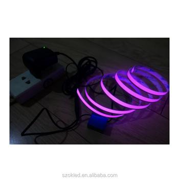 El cinta luz de la cuerda de nen flexible resplandor el cable el cinta luz de la cuerda de nen flexible resplandor el cable impermeable franja de luz aloadofball Images