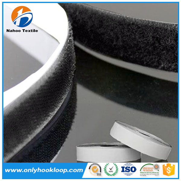 100% Nylon Soft Self Adhesive Loop fabric Back To Back Tape in best quality