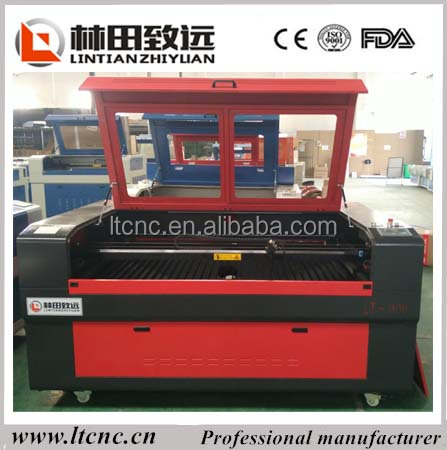 High efficiency co2 laser cutting machine 1600*1000mm with reci galss co2 laser tube 130W