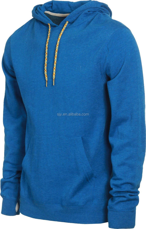 0dfe362a0d11b Nuevo estilo personalizado mens pullover capa doble sin cremallera chaqueta  con capucha