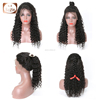 Cuticle Aligned Best Natural Human Unprocessed Virgin Mongolian Hair Curly Lace Wig