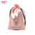 Fancy Wedding Party Favors Silk Pouch Candy Gift Bags Custom Printed Satin Drawstring Bags