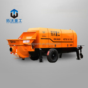 lightweight concrete pump, small portable concrete pump for sale in Philippines