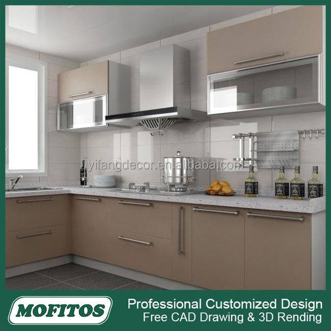 Wholesale High Gloss Uv Finish Modular Kitchen Cabinet Sale - Buy ...