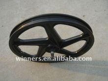 "6 20"" PLASTIC 5-SPOKE COASTER WHEEL"