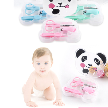 New arrival 4pcs baby manicure set baby safty nail clipper set for child
