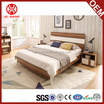 Wholesale Home Furniture Latest Wooden Double Bed Design With Box ...