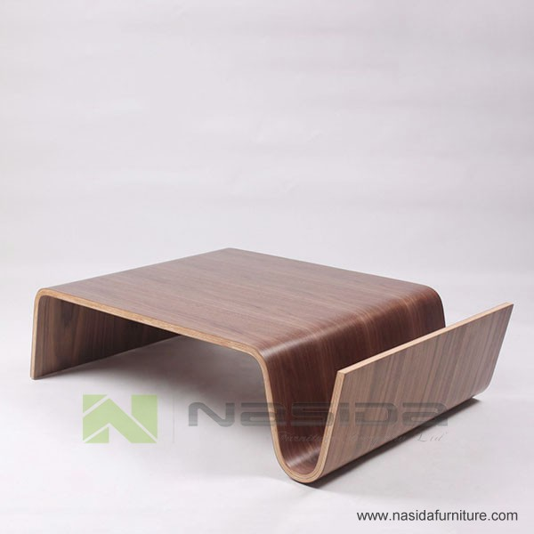 Tl029 Offi Scando Coffee Table Eric Pfeiffer Panel Walnut Talbe In Livingroom View Offi Scando