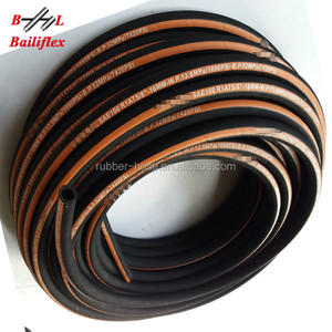 Gold Supplier for Oil R2AT/2SN R1/1SN SAE/DIN Standard Steel wire braided and spiraled hydraulic hose