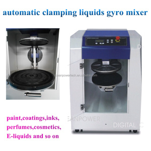 Paint color gyroscopic mixer /automatic clamping electric mixer/high speed mixing machine for coating,inks,chemicals,perfumes