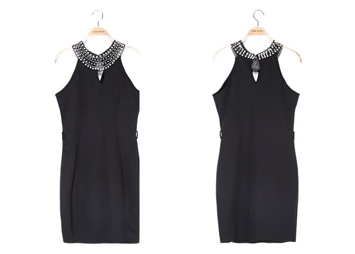 e664e60409e Designer one piece short dress Straight dress for office Dress tight black  short