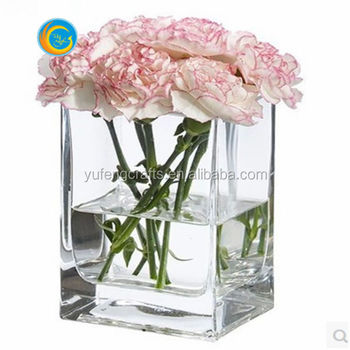 Wholesale China Tiffany Style Rose Stained Glass Vase For Home